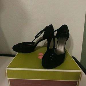 Naturalizer Black Trustee Womens Heels 10 M